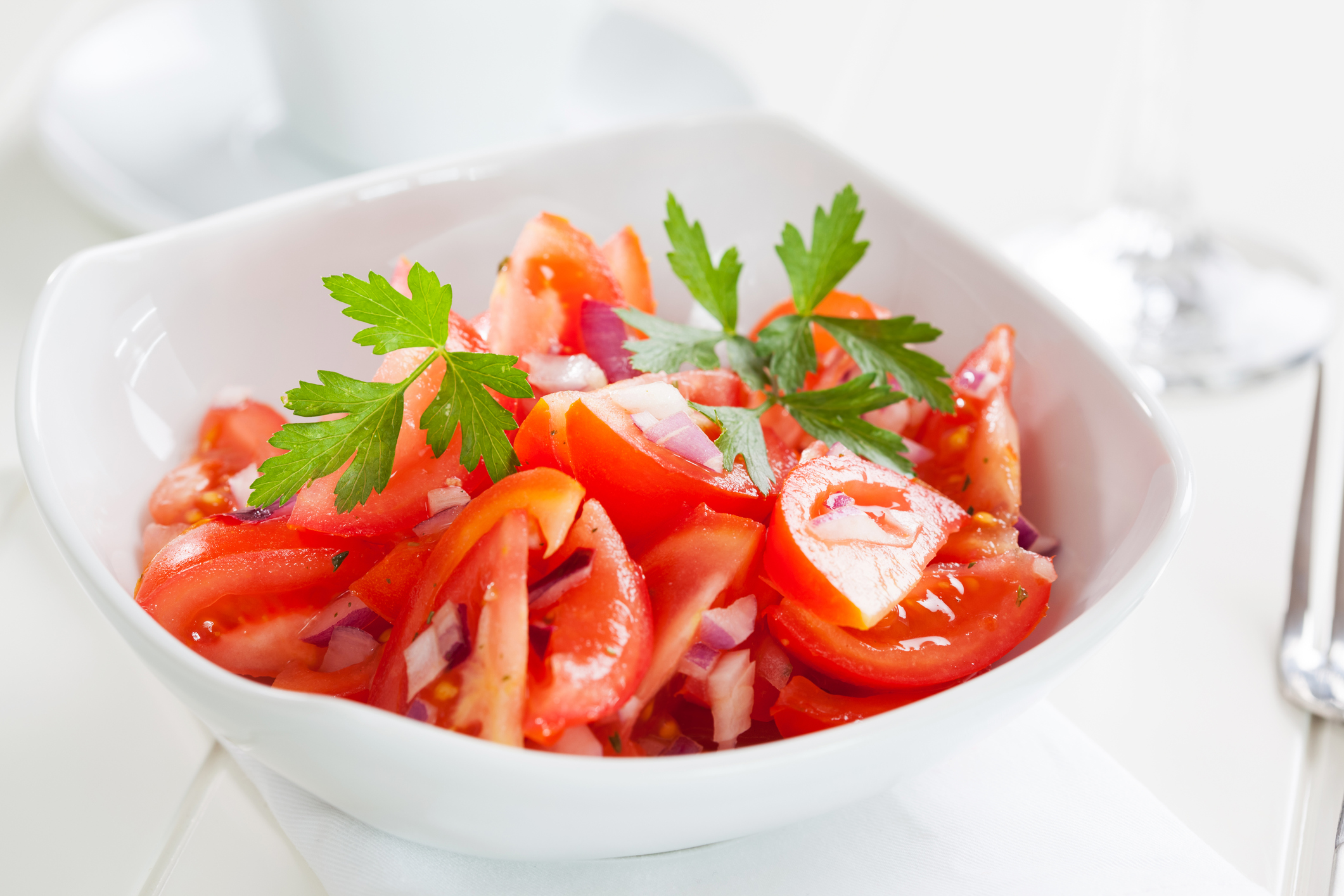 Tomatsalat  fra  Hellas?